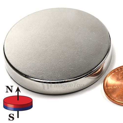 Neodymium Disk - 38.1mm x 6.35mm (1-1/2 inch x 1/4 inch)