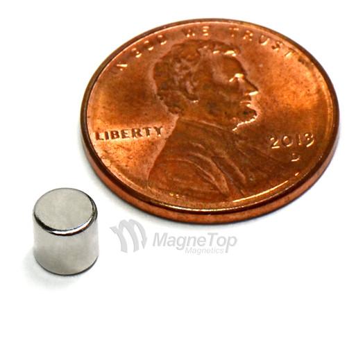 Neodymium Disk  -  5mm x 5mm - N45