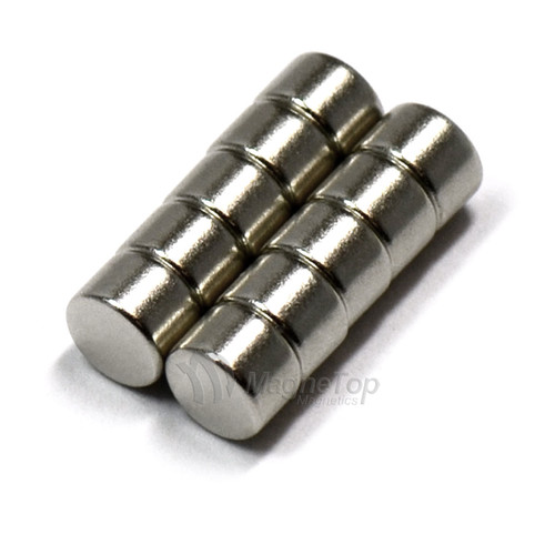Neodymium Disk  -  5mm x 3mm - N48