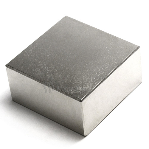 Neodymium Block  -  50mm x 50mm x 25mm - N42