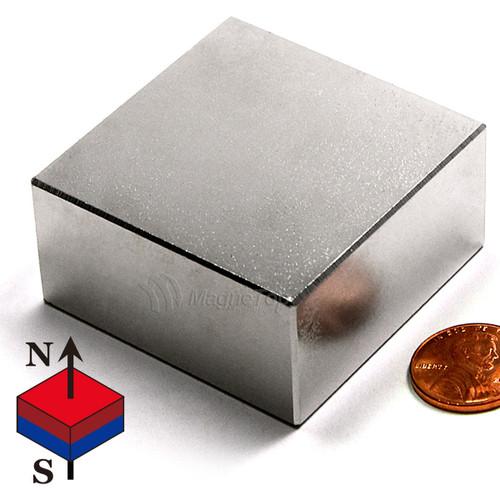 Neodymium Block - 50mm x 50mm x 25mm