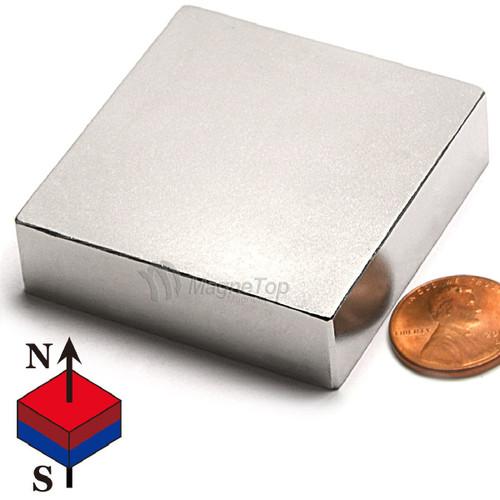 Neodymium Block - 50mm x 50mm x 15mm