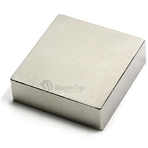 Neodymium Block  -  50mm x 50mm x 15mm - N42