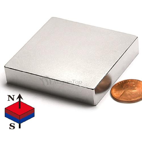 Neodymium Block - 50mm x 50mm x 10mm