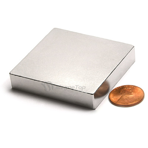 Neodymium Block  -  50mm x 50mm x 10mm - N52