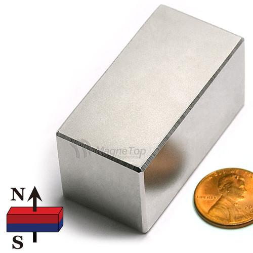 Neodymium Block - 50mm x 25mm x 25mm