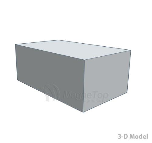 Neodymium Block  -  50mm x 30mm x 20mm - N42