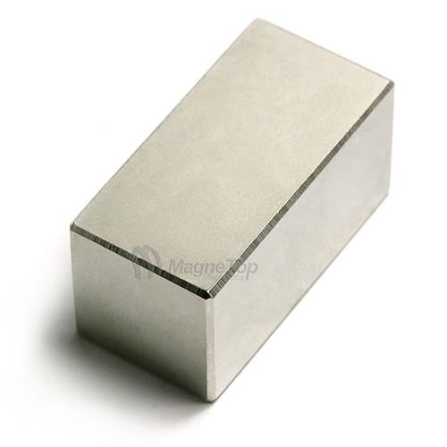 Neodymium Block  -  40mm x 20mm x 20mm - N52
