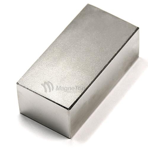 Neodymium Block  -  40mm x 20mm x 15mm - N48