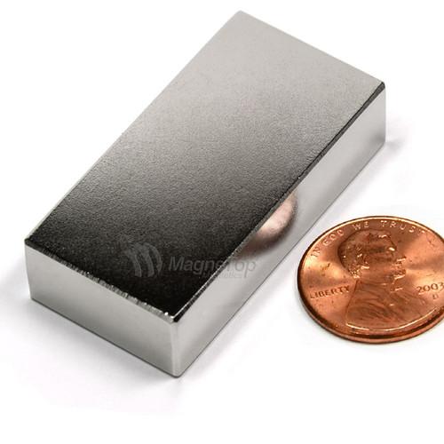 Neodymium Block  -  40mm x 20mm x 10mm - N45