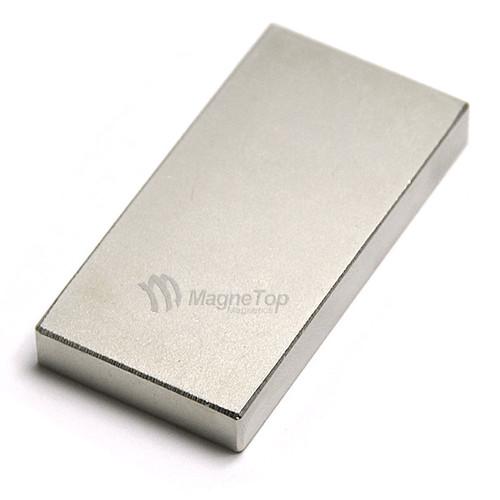 Neodymium Block  -  40mm x 20mm x 5mm - N45
