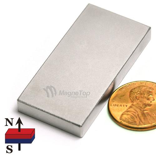 Neodymium Block - 40mm x 20mm x 5mm