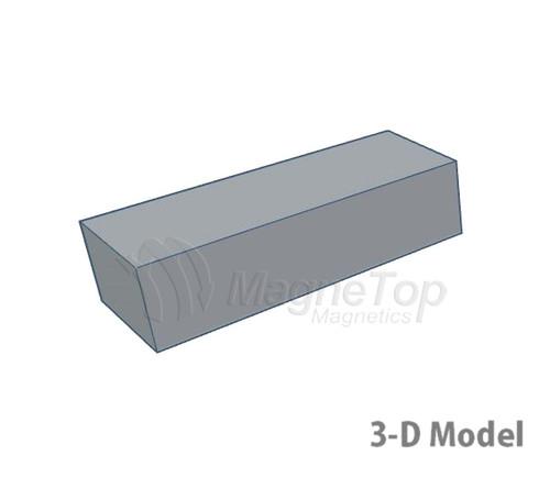 Neodymium Block  -  40mm x 15mm x 10mm - N42