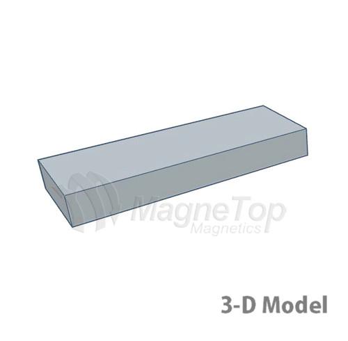Neodymium Block  -  40mm x 15mm x 5mm - N42