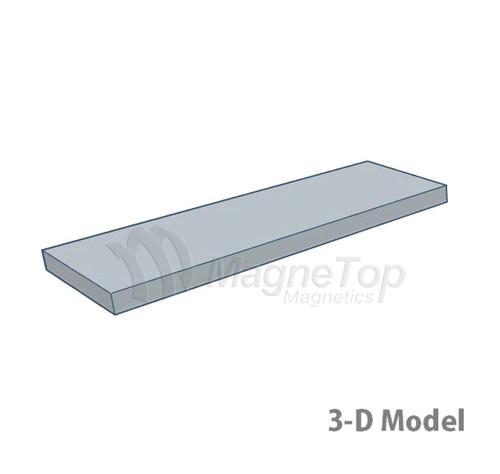 Neodymium Block  -  40mm x 15mm x 2mm - N42SH High Temp