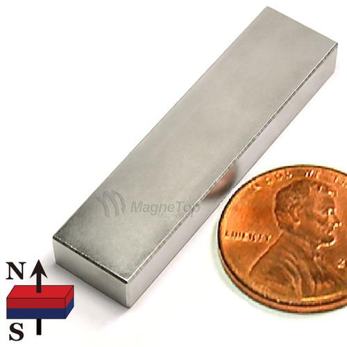 Neodymium Block - 40mm x 10mm x 5mm