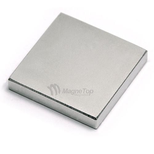 Neodymium Block  -  30mm x 30mm x 5mm - N45SH High Temp