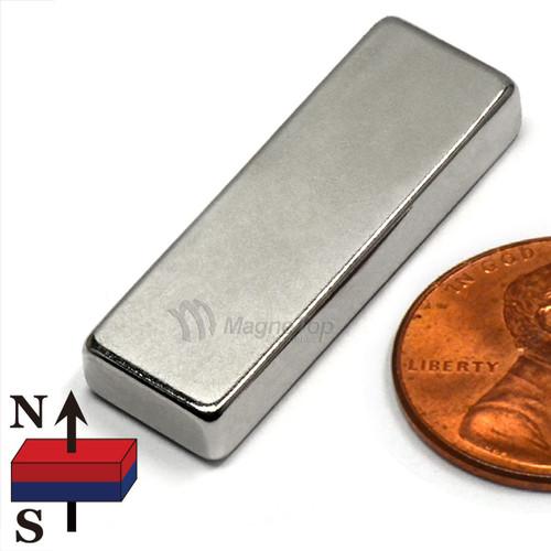 Neodymium Block - 30mm x 10mm x 5mm
