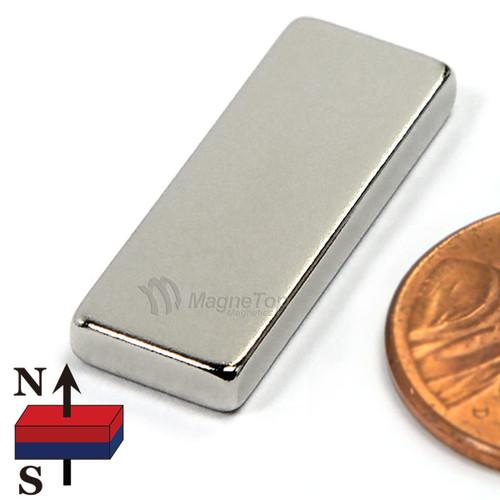 Neodymium Block - 25mm x 10mm x 3mm