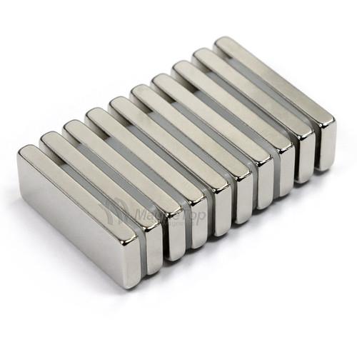 Neodymium Block  -  25mm x 10mm x 3mm - N42