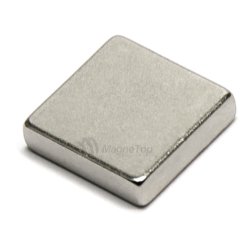 Neodymium Block  -  12mm x 12mm x 2.5mm - N42SH High Temp