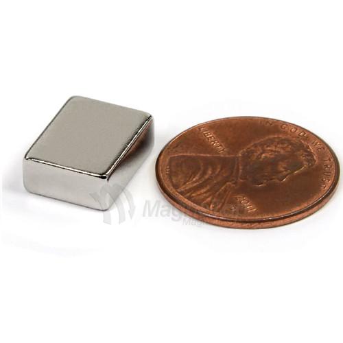Neodymium Block  -  12mm x 10mm x 5mm - N45