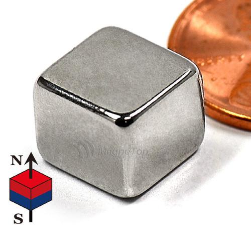 Neodymium Block - 10mm x 10mm x 8mm