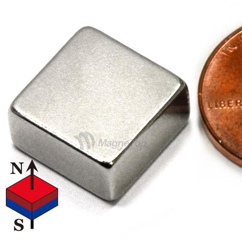 Neodymium Block - 10mm x 10mm x 5mm