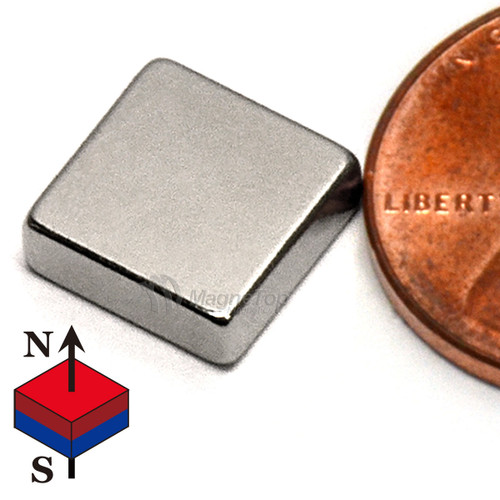 Neodymium Block - 10mm x 10mm x 3mm