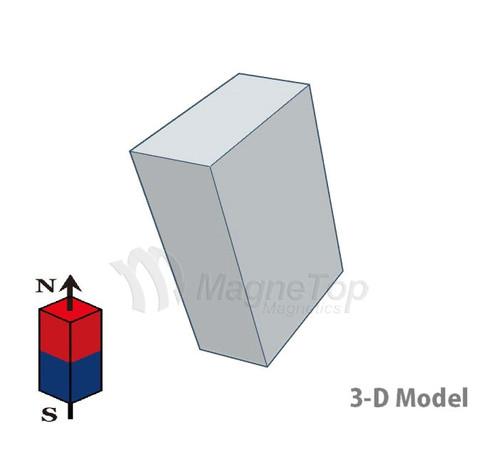 Neodymium Block - 10mm x 5mm x 15mm