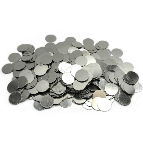 Round Disc Steel Strikers  -  20mm x 1mm 10 Pcs