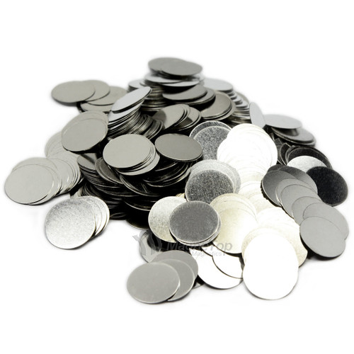 Round Disc Steel Strikers  -  15mm x 1mm 100 Pcs