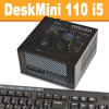 ASRock DeskMini 110 Mini PC, Core i5 6400, 8GB,  256GB PCIe SSD