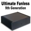 "Ultimate Fanless Mini PC, 9th Gen 8-Core i7, Dual Intel LAN, HDMI 2.0, NVMe SSD, 2x 2.5"" RAID [IMB370TN]"