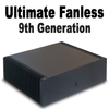 Ultimate Fanless Mini PC, 9th Gen 6-Core i5, Dual Intel LAN, Displayport, HDMI 2.0, NVMe SSD, RAID 0/1, PCI-e Expansion [IMB370TN]