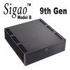 Sigao Model B Fanless PC, 9th Gen 8-Core i7 9700T, 16GB DDR4 3000Mhz, Samsung 970 Plus 250GB PCIe SSD [Z390]