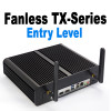 Fanless TX-Series Mini PC, Entry Level for Home or Business, NVMe SSD [ASUS H310T]