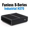 Fanless S-Series Mini PC, Industrial, 9th Gen up to i5, Dual intel LAN, HDMI 2.0, NVMe SSD [IMB370TN]