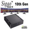Sigao Model B Fanless PC, 10th Gen 10-Core i9 10900T, up to 64GB, Nvidia Quadro P400v2 Multi-Display [H470i]