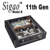 Sigao Model B Fanless PC, 11th Gen 8-Core i9 11900T, Xe Graphics, PCIe 4.0 SSD, up to 64GB [B560i]