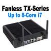 Fanless TX-Series Mini PC, Industrial, 10th Gen up to i7, Dual intel LAN, HDMI 2.0, NVMe SSD [IMB410TN]