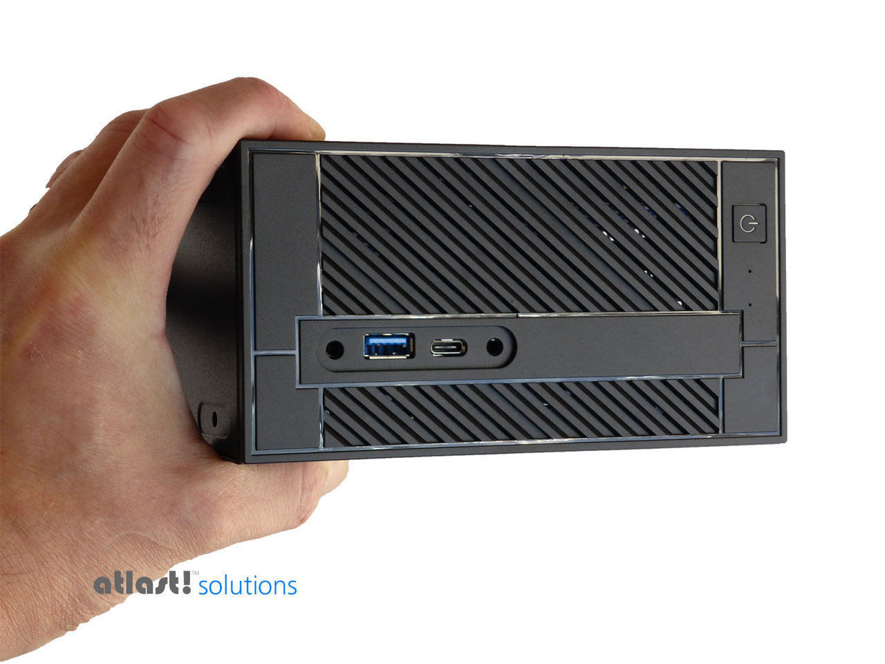 ASRock DeskMini 110 Mini PC, Core i3 7100, 8GB, 256GB PCIe SSD