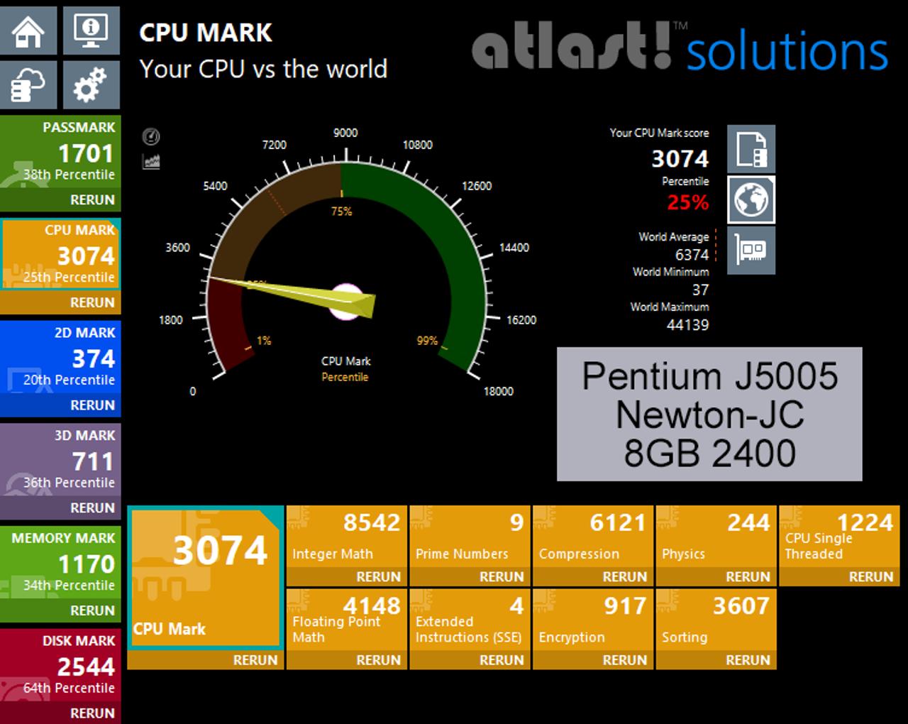 Fanless Quad Core Pentium J5005 NUC PC, 4GB DDR4, 128GB SSD, Dual HDMI 2 0a  [Newton-JC]