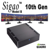 New Nvidia Quadro option for Sigao Model B - 4x 4k@60fps, 5 monitors total!