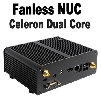 Fanless Celeron NUC PC, 4GB DDR3, 256GB SSD [Newton-P-N3050]