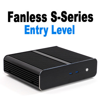 Fanless S-Series Mini PC, Entry Level Business or Home, VESA mount [ASUS H310T]