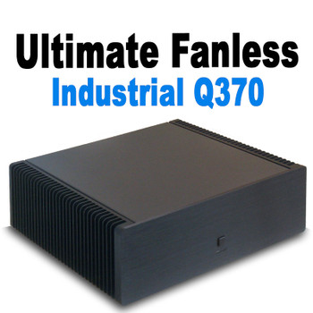 Ultimate Fanless Mini PC, Industrial, Q370 vPro, 9th Gen up to i7, Dual Intel LAN, Displayport, HDMI 2.0, NVMe SSD,  PCI-e Expansion [IMB370TN]