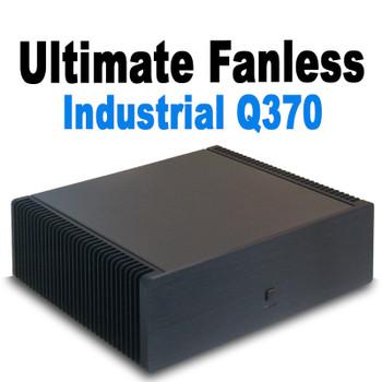 Ultimate Fanless Mini PC, Industrial, Q370 vPro, 9th Gen up to i7, Dual Intel LAN, Displayport, HDMI 2.0, NVMe SSD,  PCI-e Expansion [IMB370TN]