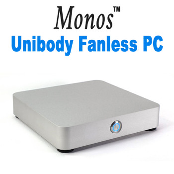 Monos Unibody Fanless Mini PC, 9th Gen, Dual intel LAN, HDMI 2.0, NVMe SSD, Q370 vPro [IMB370TN]