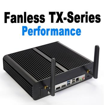 Fanless TX-Series High Performance Mini PC, 10th Gen up to i7 10700T,  up to 64GB DDR4, Fast NVMe SSD [ASUS H410T]